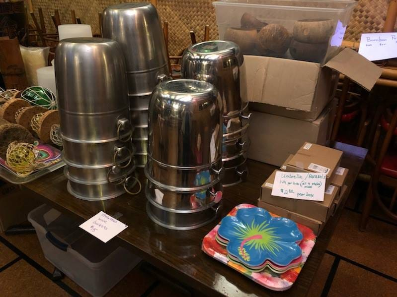 "Omni Hut owner Polly Walls-Balakhani is holding a final ""Decor and More"" sale from 9 a.m. to noon Saturday, Feb. 9, at the restaurant, 618 S. Lowry St. in Smyrna."