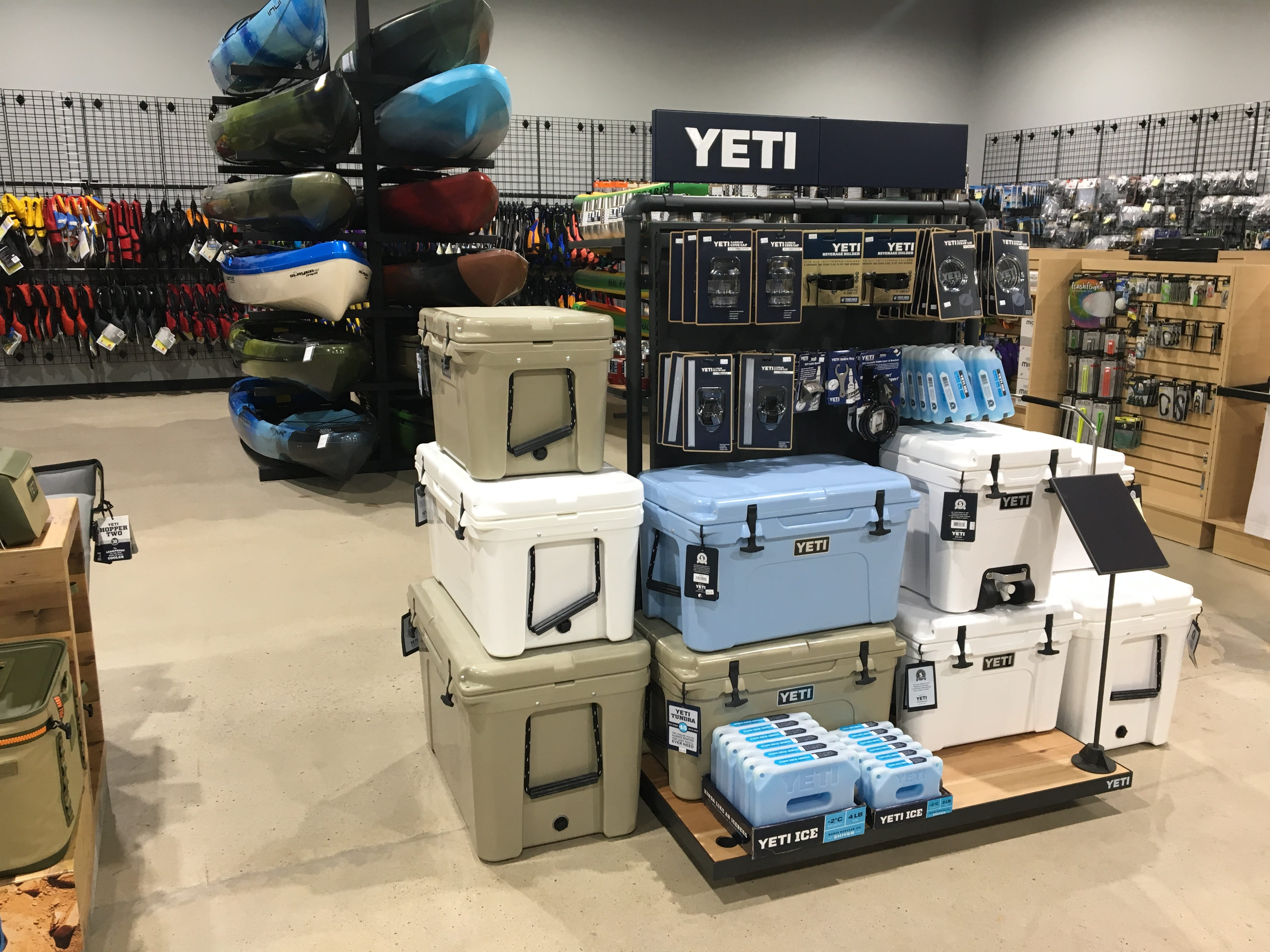 Hook1 outfitters in Murfreesboro has a variety of Yeti coolers and accessories.