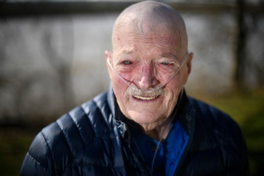 Chip Healy, a middle linebacker drafted from Vanderbilt in 1969 by the St. Louis Cardinals, battles lung disease and lymphoma at his house in the sober living village he built in Nashville.