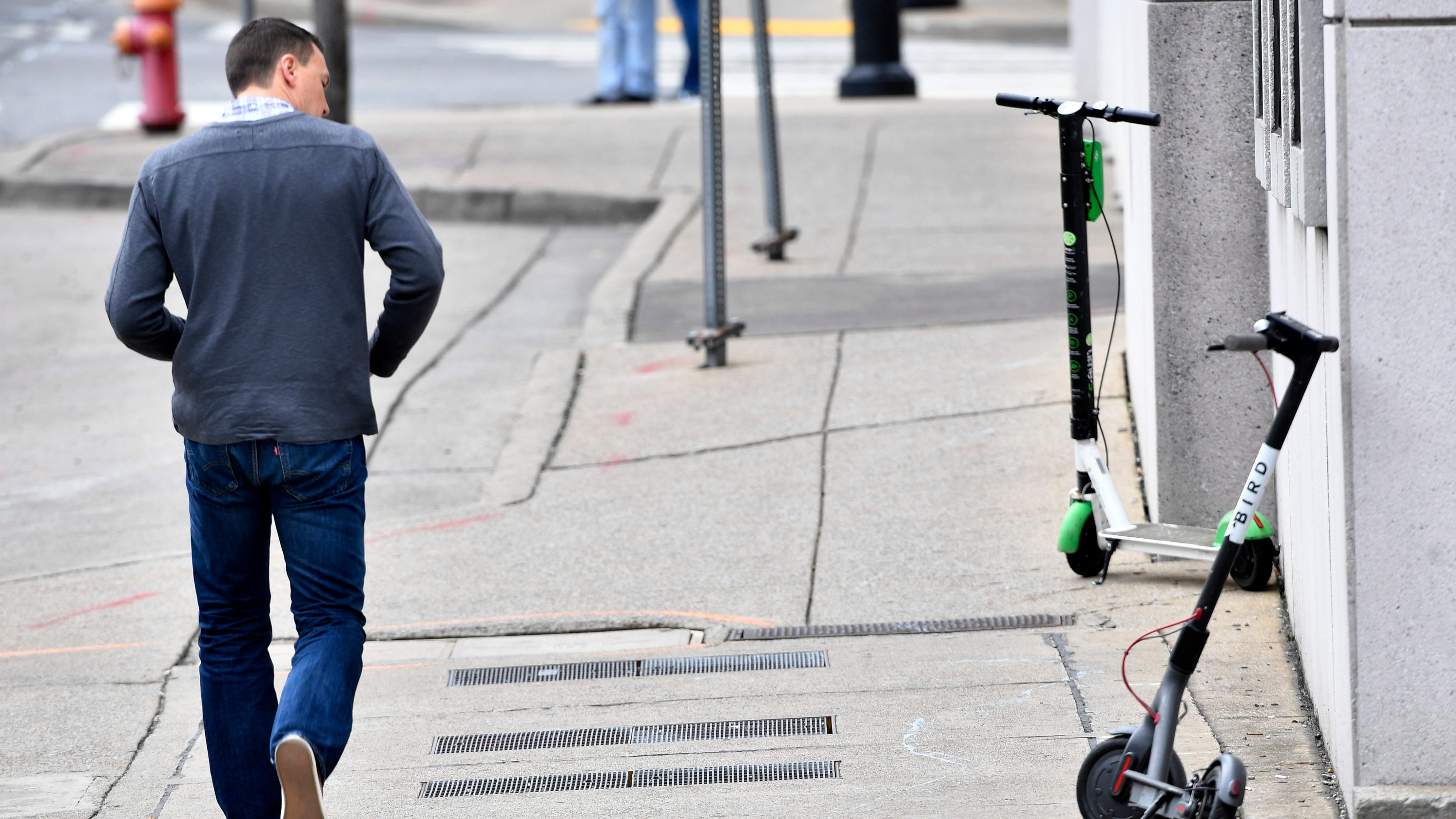 Adam Dread running for Nashville Council, wants electric scooters ban