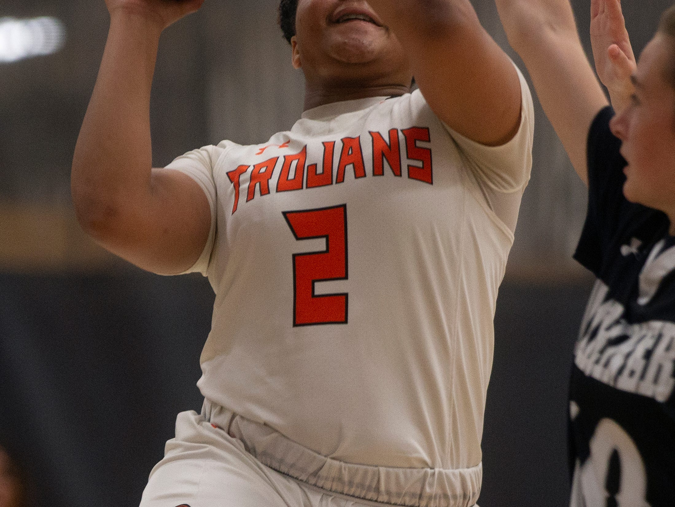 Lely High School's Cherrie Terry goes for a layup during their basketball game against Mariners High School, Thursday, Feb. 6, 2019, at Lely High School.