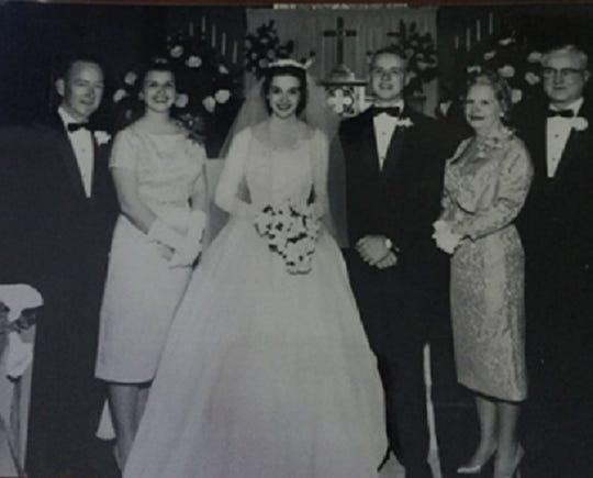 Linda and Max McDade wedding