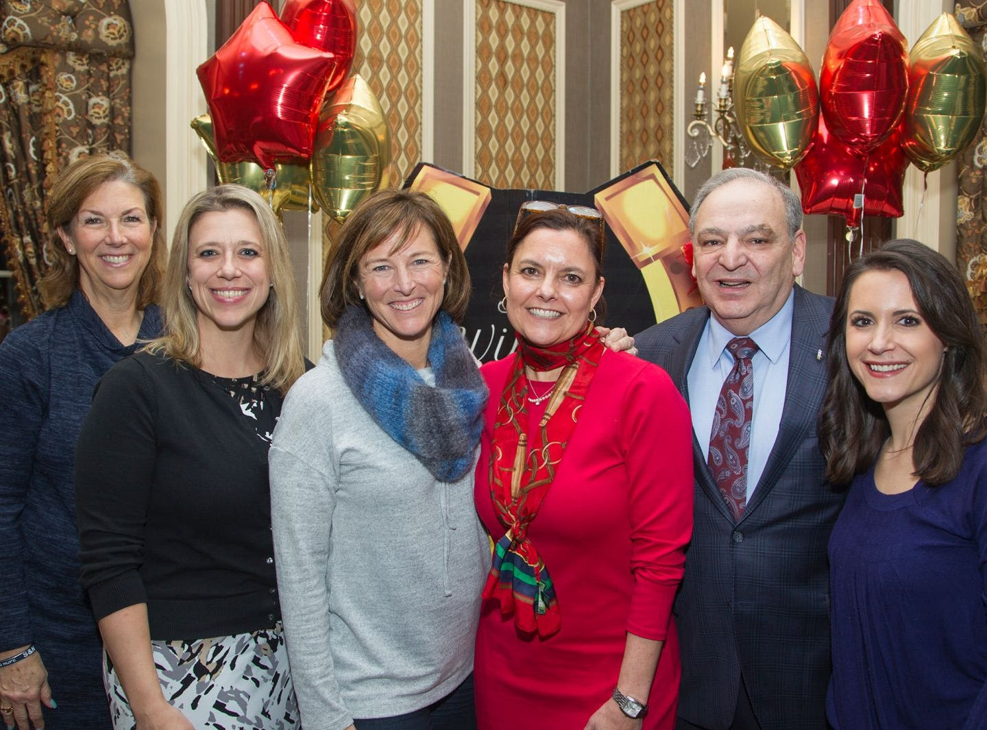 Board of Directors Community Representative Deb Duffy, Director of Education Jessica Egger, President Susan Buchanan, Executive Director  Jennifer Brady, Treasurer Alfonso Daloisio, Jr, Joanna Gagis. Executive Producer & VP of Programming A Night at the Races hosted by OASIS at the Brownstone in Paterson. 2/7/2019
