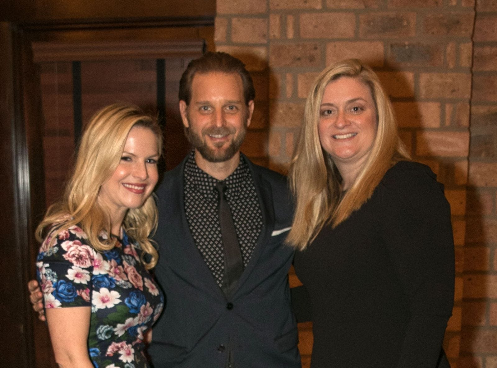 Sonja Cullaro, Dan Peros, Christina Gibbons. Christina Gibbons of Special Properties held a cocktail reception to acknowledge her clients at Roots Steakhouse in Ridgewood. 02/07/2019