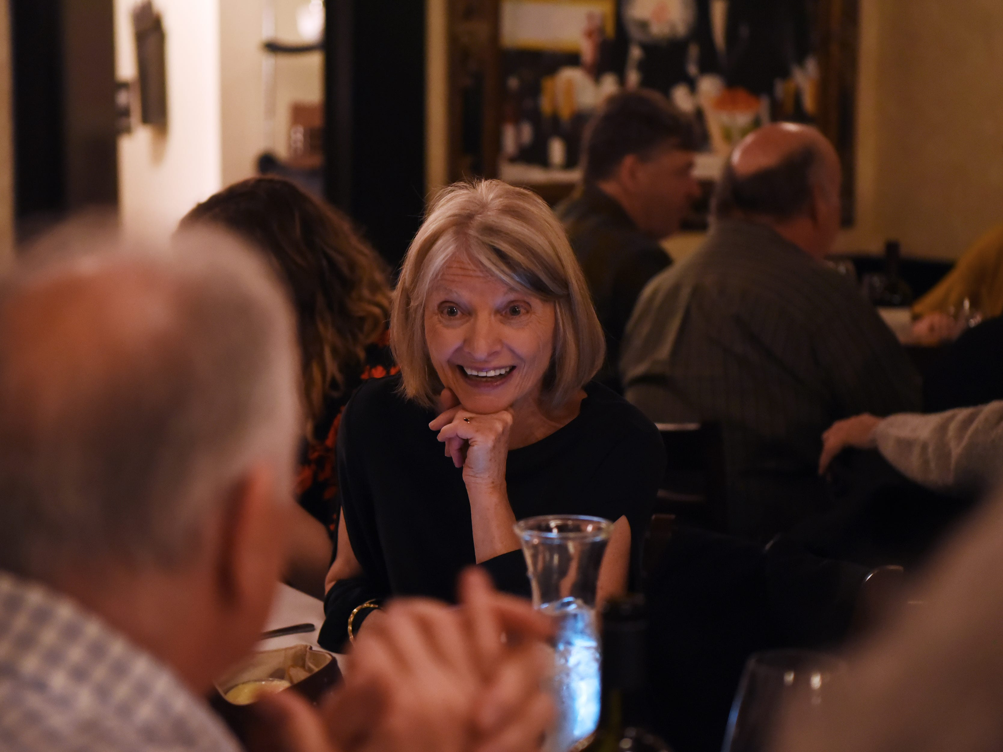 The dinner with Esther event at Technique, a French restaurant in Westwood on Thursday February 7, 2019.