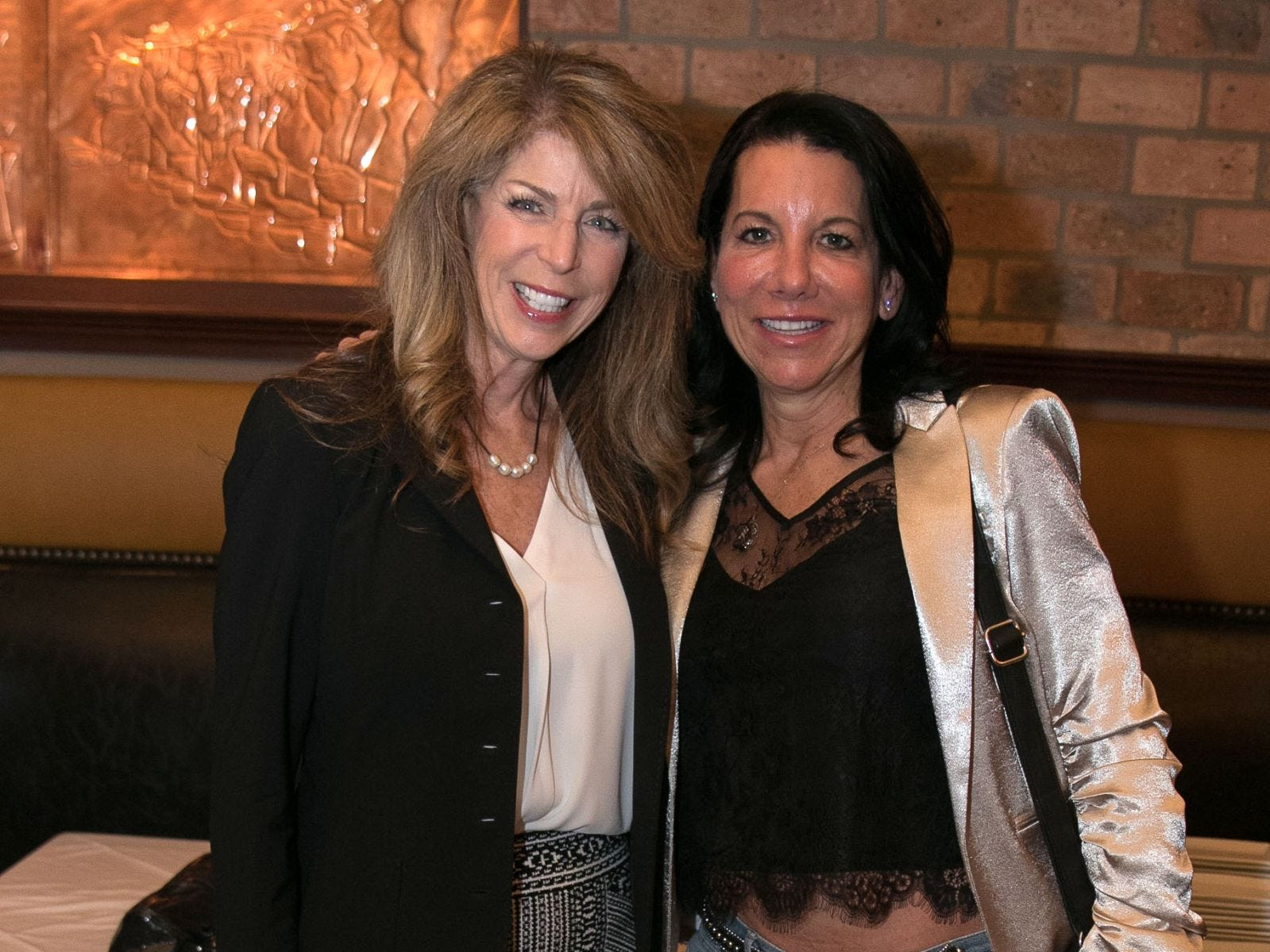 Kathy Rotella, Felicia Bechtel. Christina Gibbons of Special Properties held a cocktail reception to acknowledge her clients at Roots Steakhouse in Ridgewood. 02/07/2019