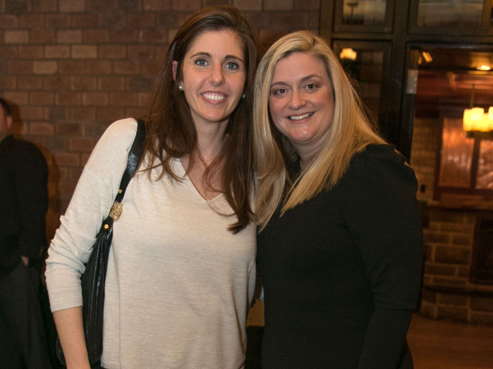 Kate Heighington, Christina Gibbons. Christina Gibbons of Special Properties held a cocktail reception to acknowledge her clients at Roots Steakhouse in Ridgewood. 02/07/2019