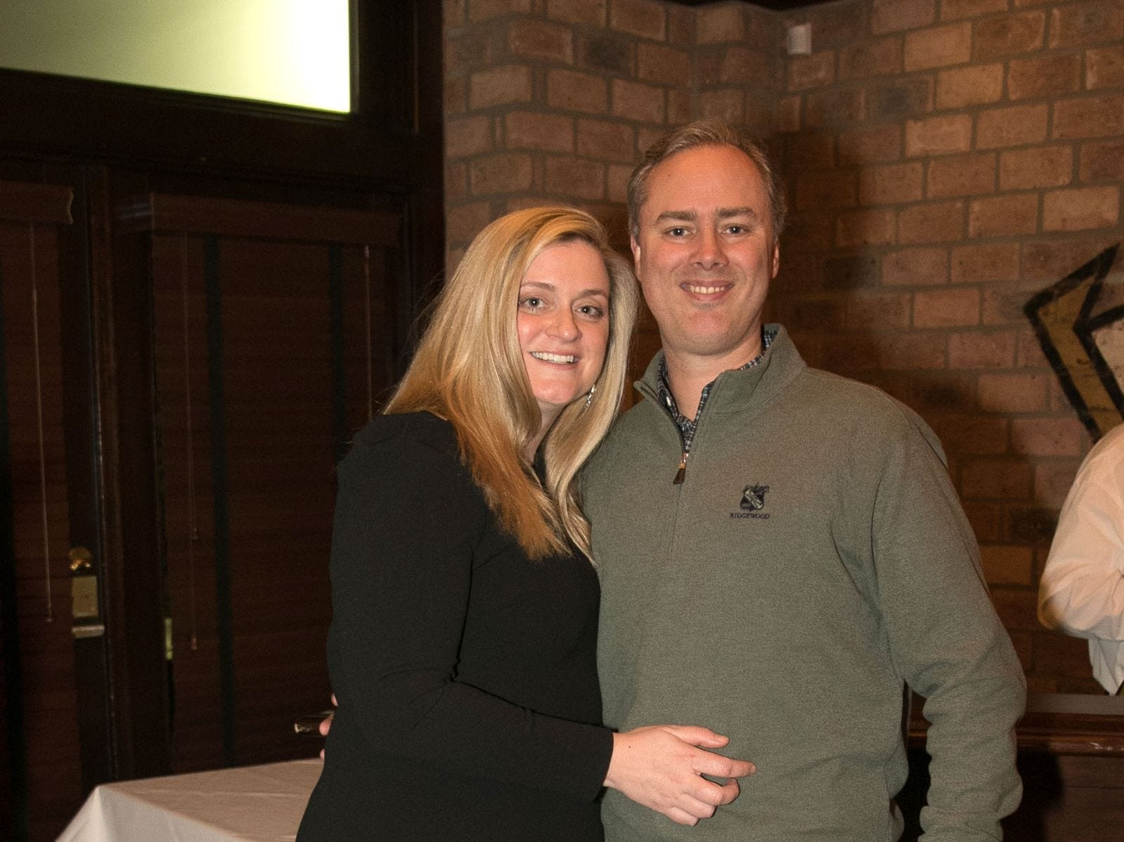 Christina and Brian Gibbons. Christina Gibbons of Special Properties held a cocktail reception to acknowledge her clients at Roots Steakhouse in Ridgewood. 02/07/2019
