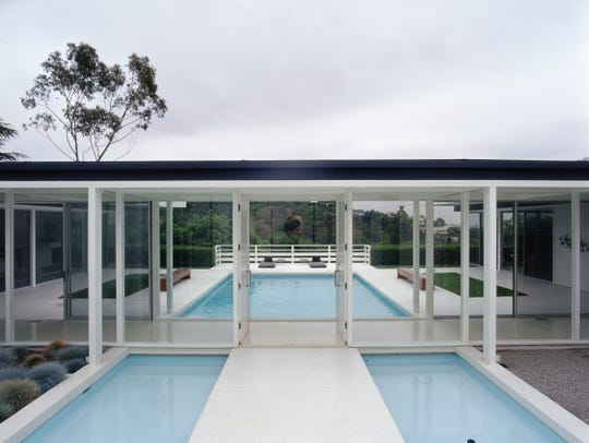Helen Rose's Trousdale Estate house, designed by Buff, Straub & Hensman.