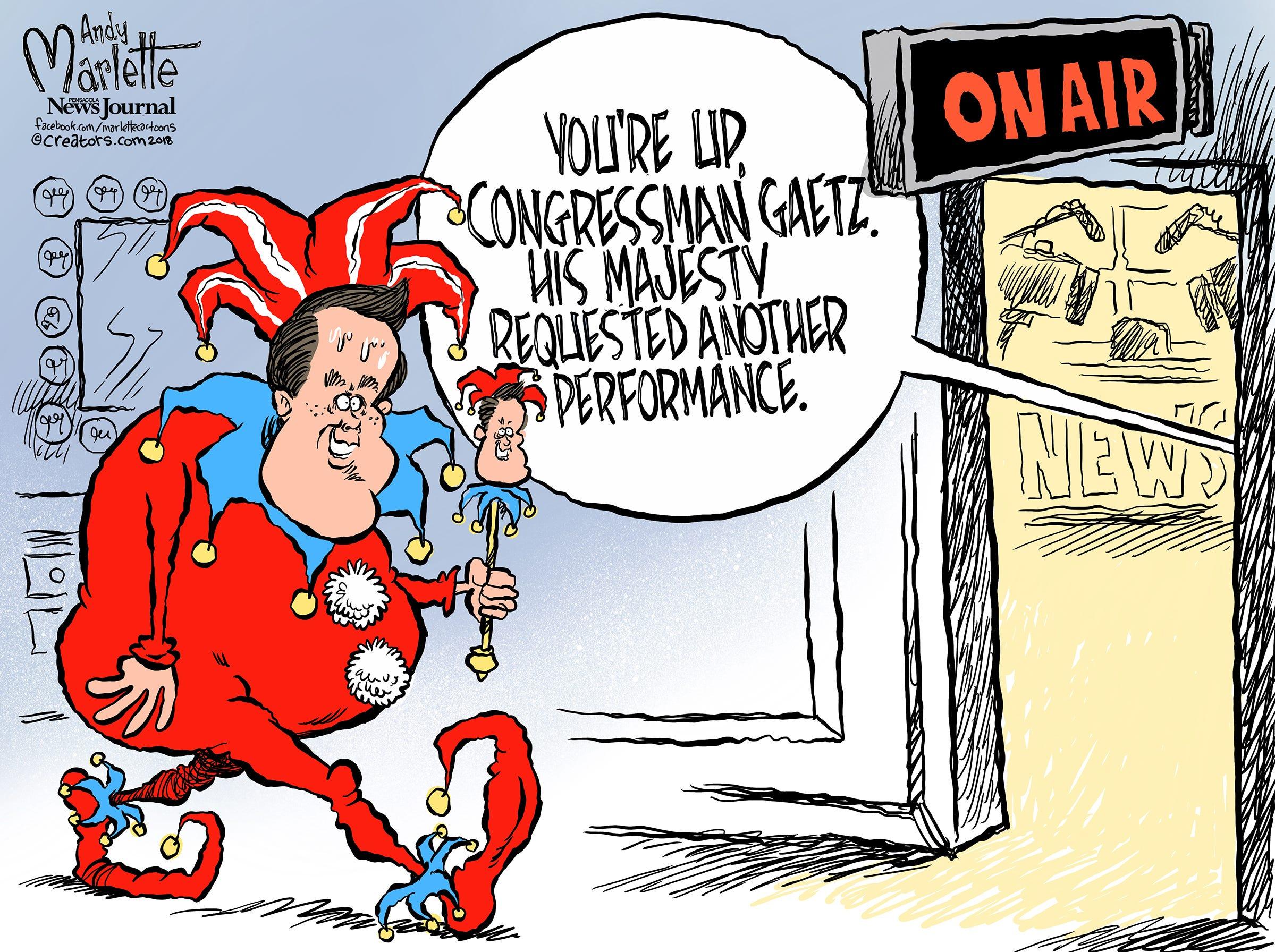 Matt Gaetz: The Cartoon Congressman!