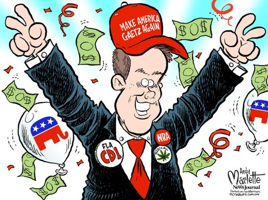 Matt Gaetz: The Cartoon Congressman!