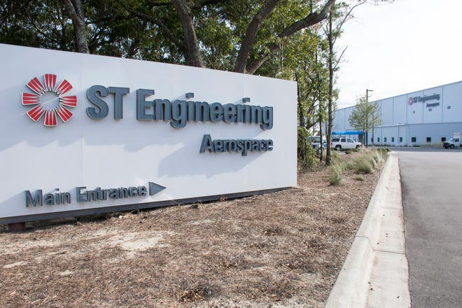 ST Engineering at the Pensacola International Airport in Pensacola on Friday, February 8, 2019.