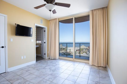721 Pensacola Beach Boulevard - Verandas #601 An additional bedroom with a view.