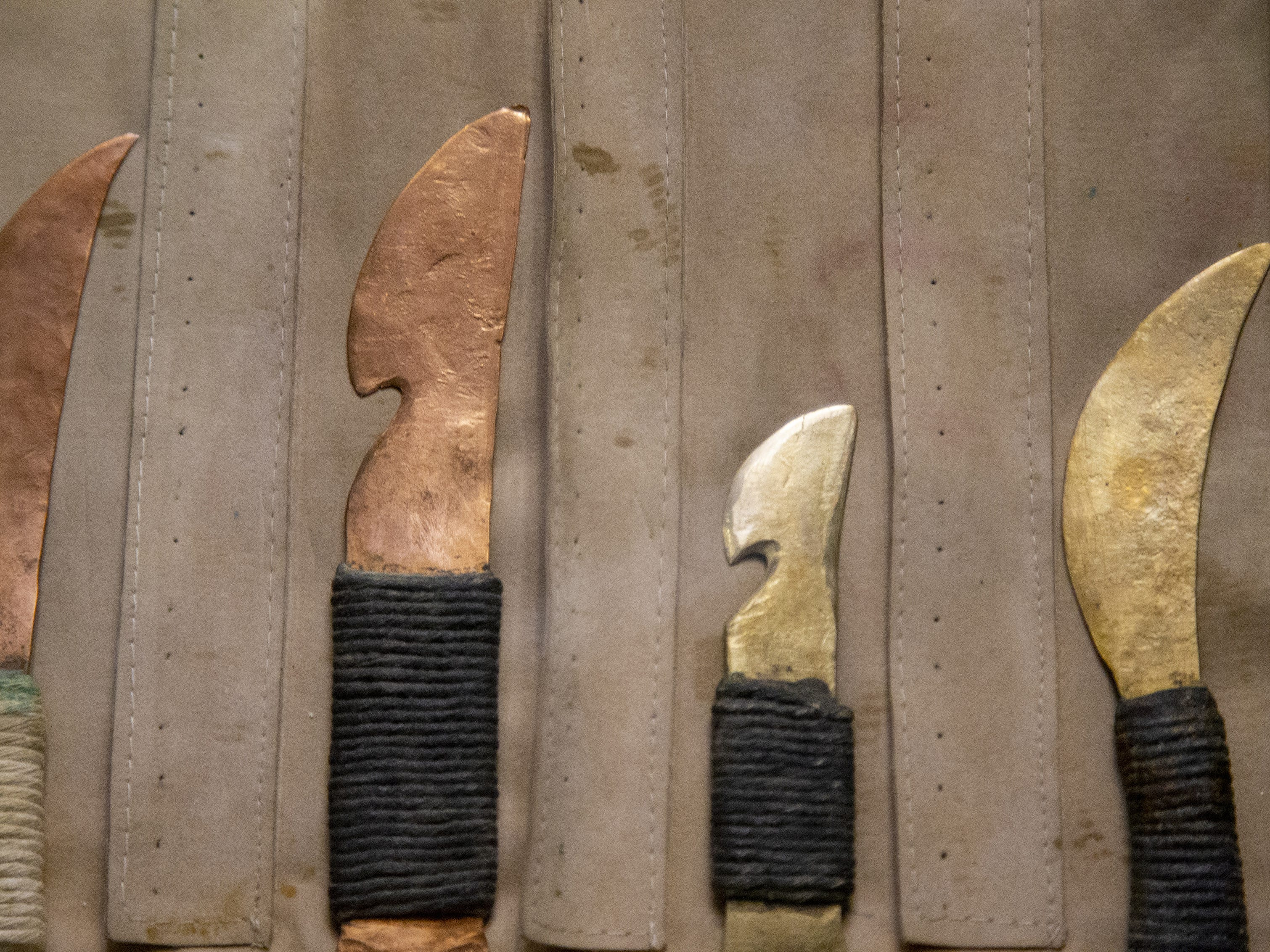 Mummies of the World: The Exhibition displays mummification tools at the Arizona Science Center. The exhibit includes mummies from Egypt, Europe and the U.S. and is open to the public from Feb. 10 through Sept. 2, 2019.