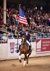 The Scottsdale Arabian Horse Show showcases over 2,000 Arabian horses in different events.