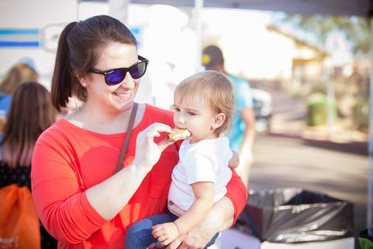 The Gilbert Sweets Festival lets patrons try different types of desserts.