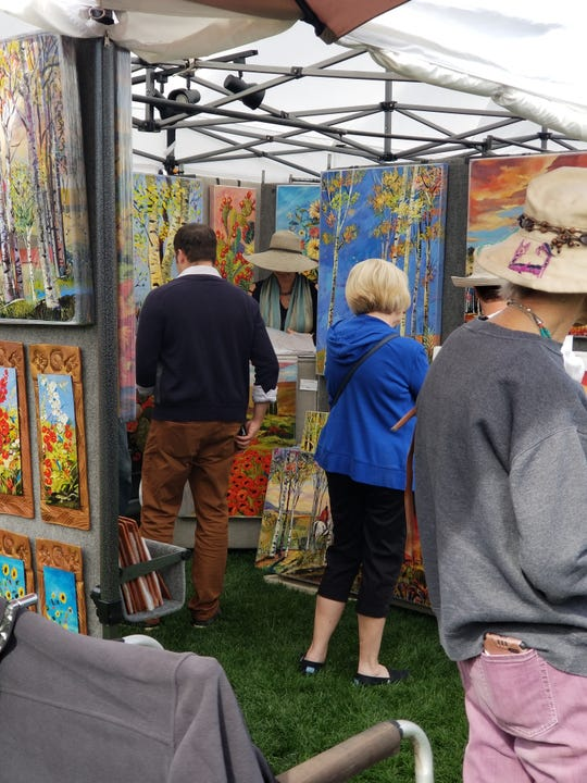 During the Wigwam Festival of Fine Art, patrons can peruse art from over 125 artists.