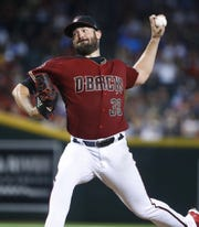 Diamondbacks pitcher Robby Ray had a down year last season.