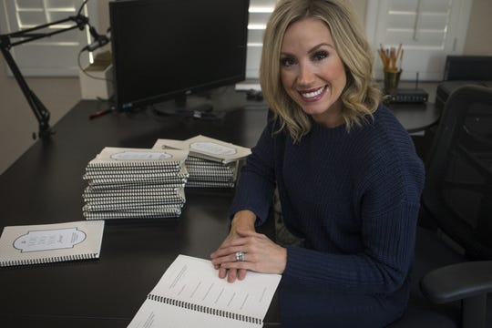 Journaling has helped Andrea Robinson, a former TV personality on Channel 10 (KSAZ).