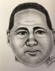 A composite sketch shows a possible suspect's likeness in an attack on a jogger in San Tan Valley.