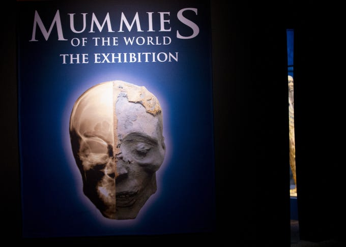 Mummies of the World: The Exhibition is opening at the Arizona Science Center on Feb. 10. The exhibit includes mummies from Egypt, Europe and the U.S. and is open to the public through Sept. 2, 2019.