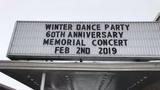 The Winter Dance Party is an annual event held in Clear Lake, Iowa, honoring Buddy Holly, Ritchie Valens and J.P. Richardson.