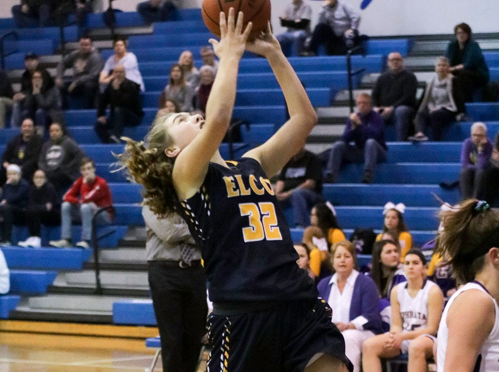 Photos from Elco girls basketball vs. Ephrata, L-L playoff game won by Elco, 61-44