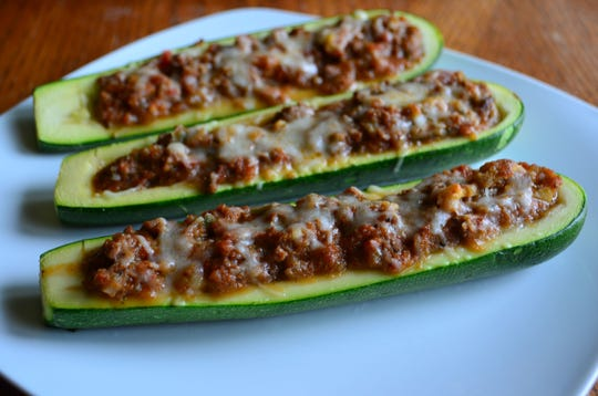 Transform  zucchini into a healthful main dish with these zucchini boats.