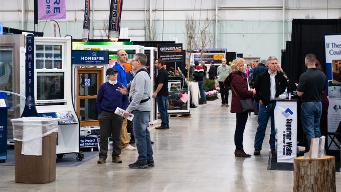 The 51st Annual York Builders Association Home & Garden Show features over 150 exhibits covering all aspects of home buying, building, remodeling and landscaping.