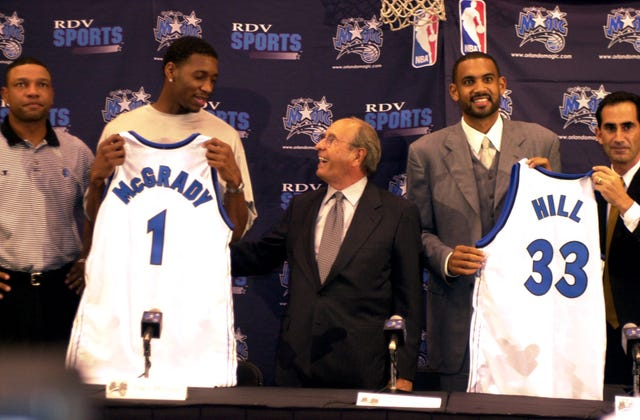 27357a85e11a Orlando Magic  See pictures of former GM John Gabriel over the years