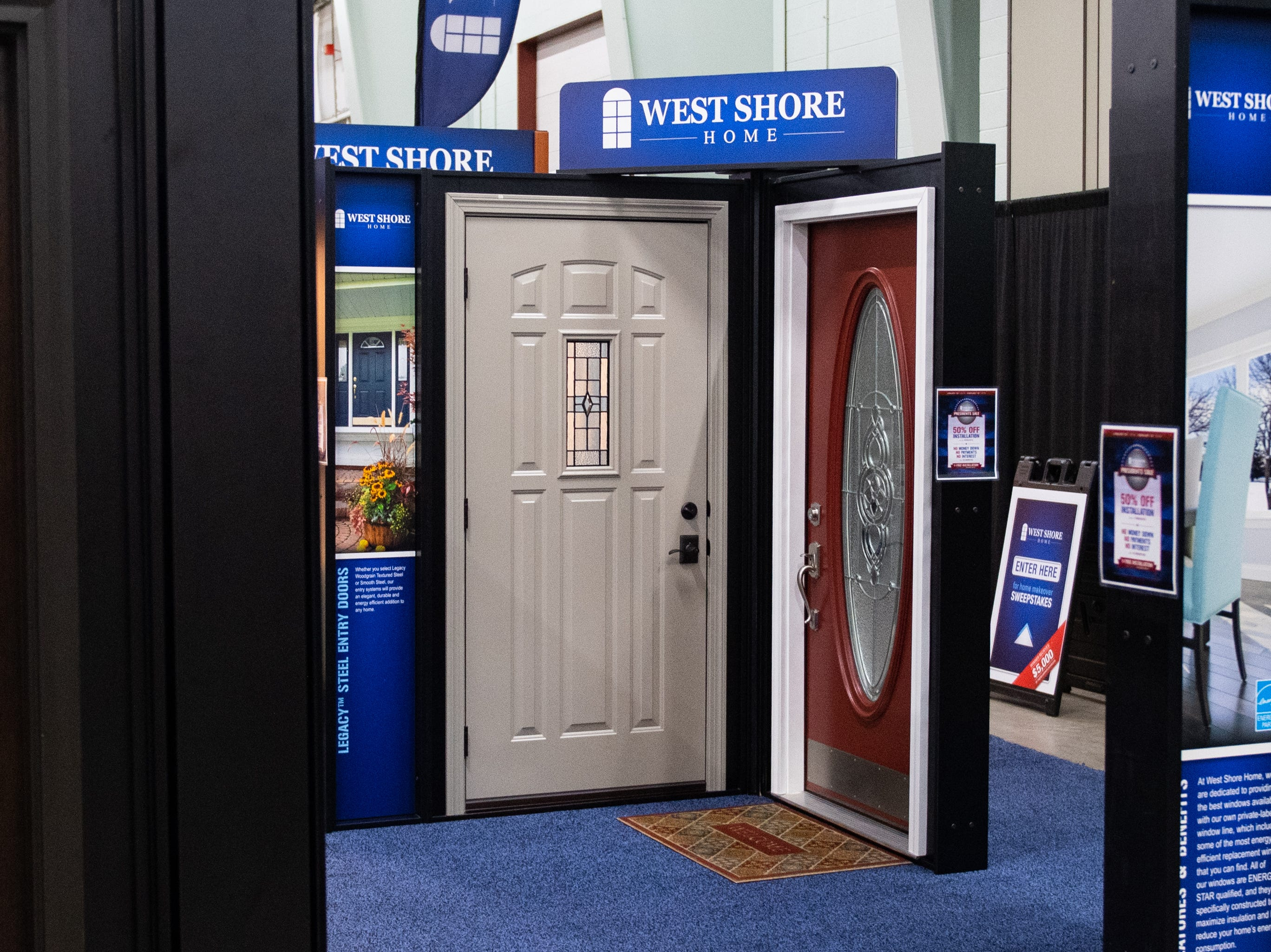 West Shore Home has a booth at the 2019 Home & Garden Show, February 8, 2019.