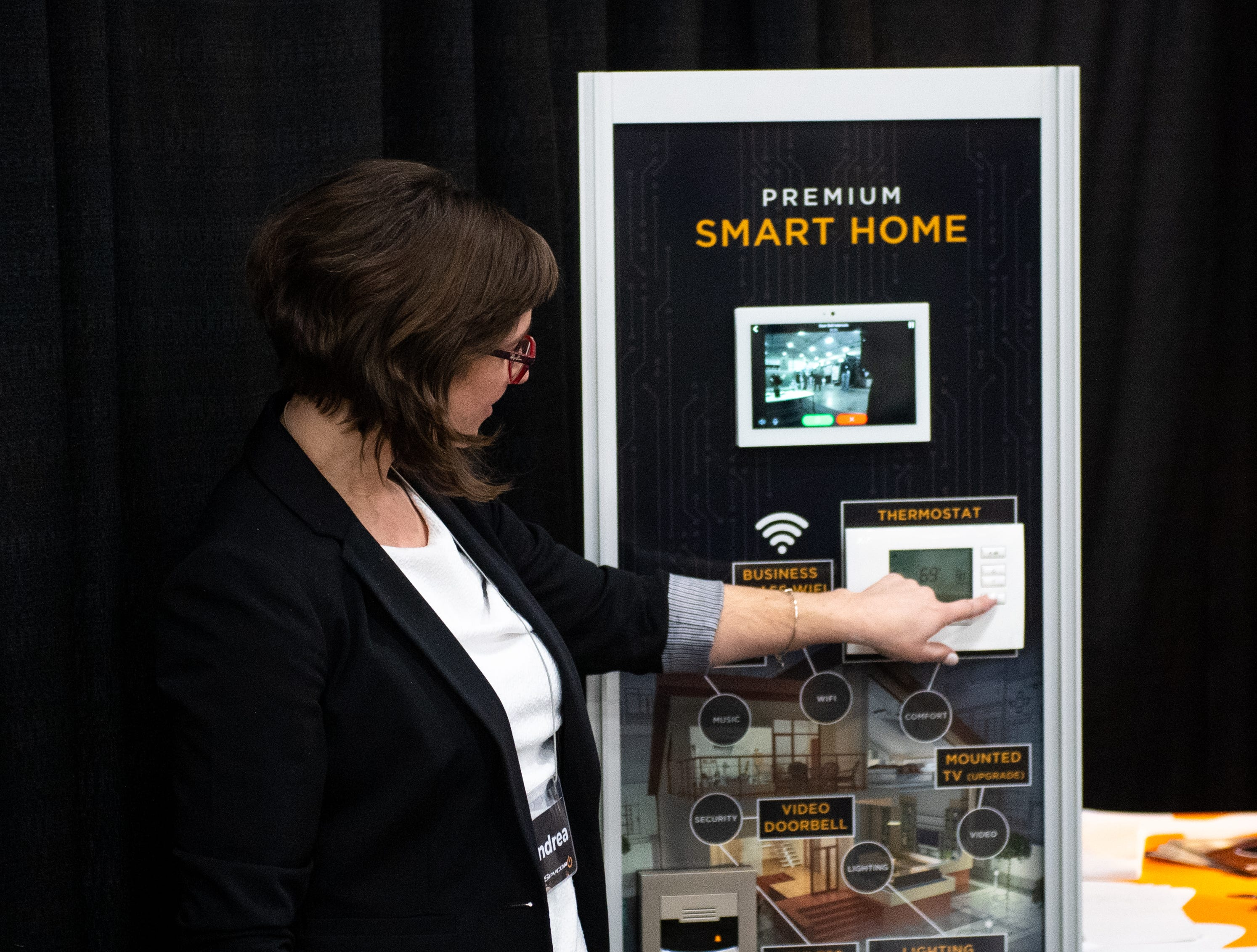 Smart Home has a booth at the 2019 Home & Garden Show, February 8, 2019.