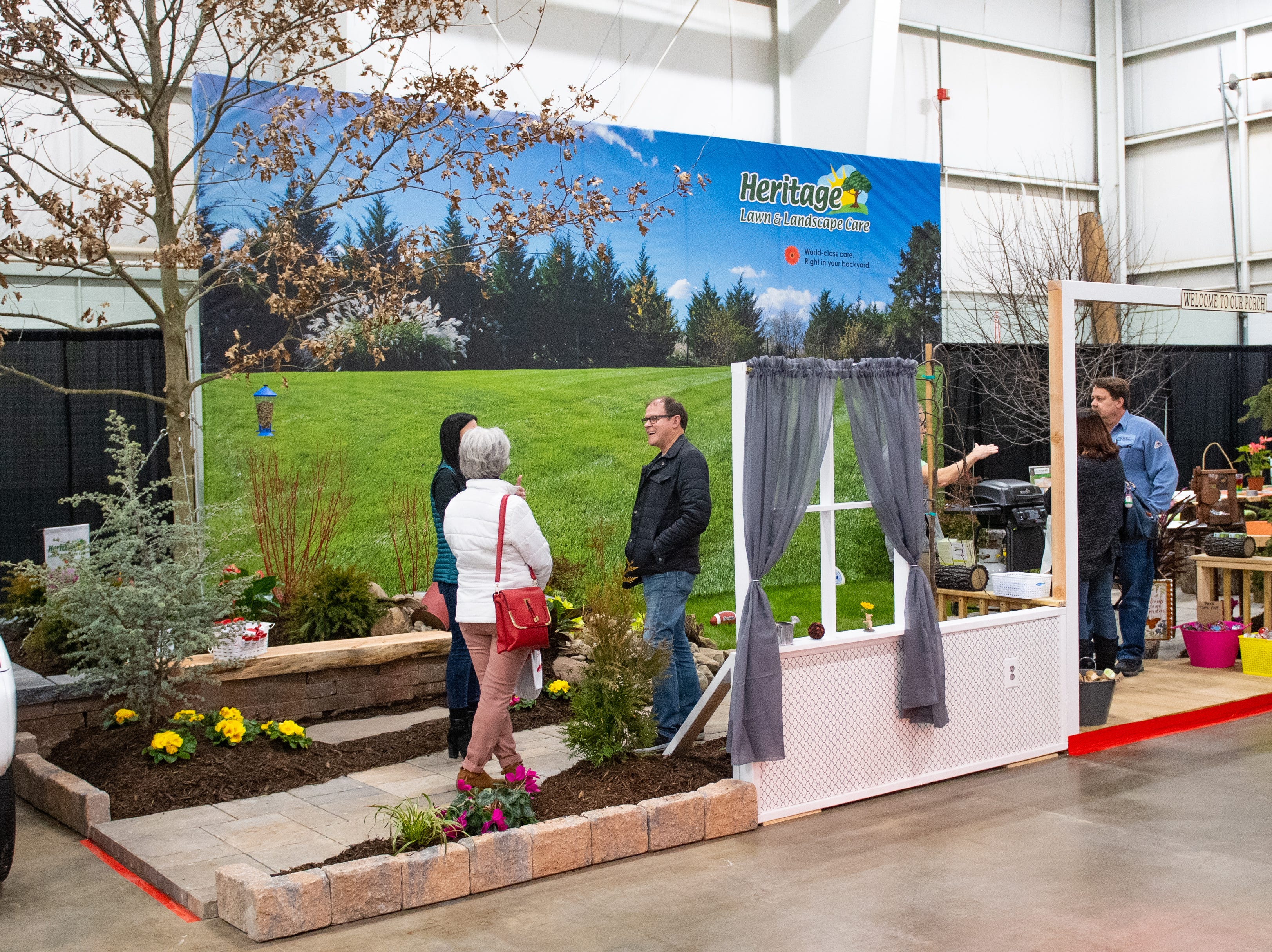 Heritage Lawn and Landscape has a booth at the 2019 Home & Garden Show, February 8, 2019.