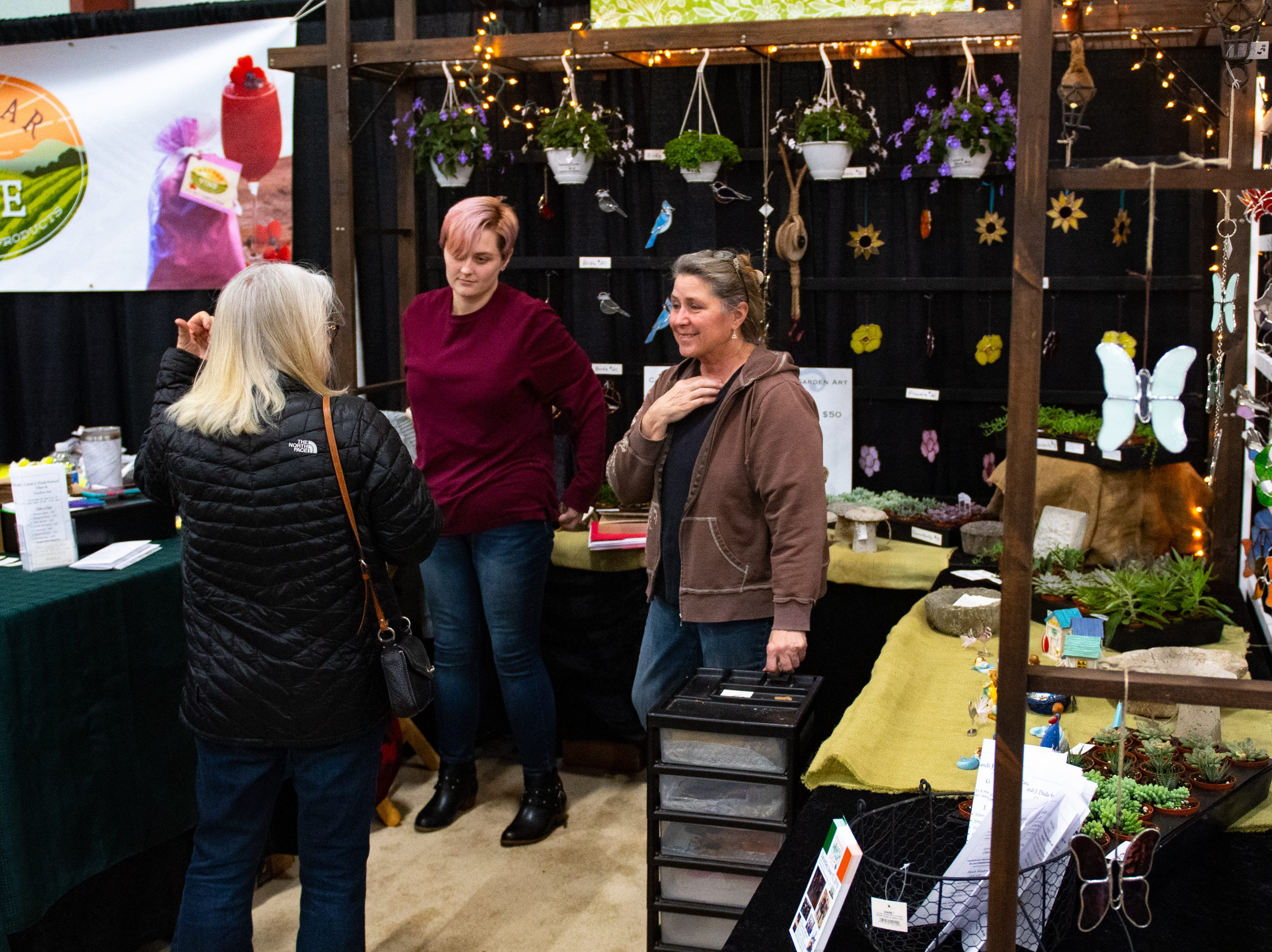 Each booth has unusual trinkets, foods, supplies or other household needs just begging to be taken home during the 2019 Home & Garden Show at the York Expo Center Utz Arena. It continues Saturday and Sunday.