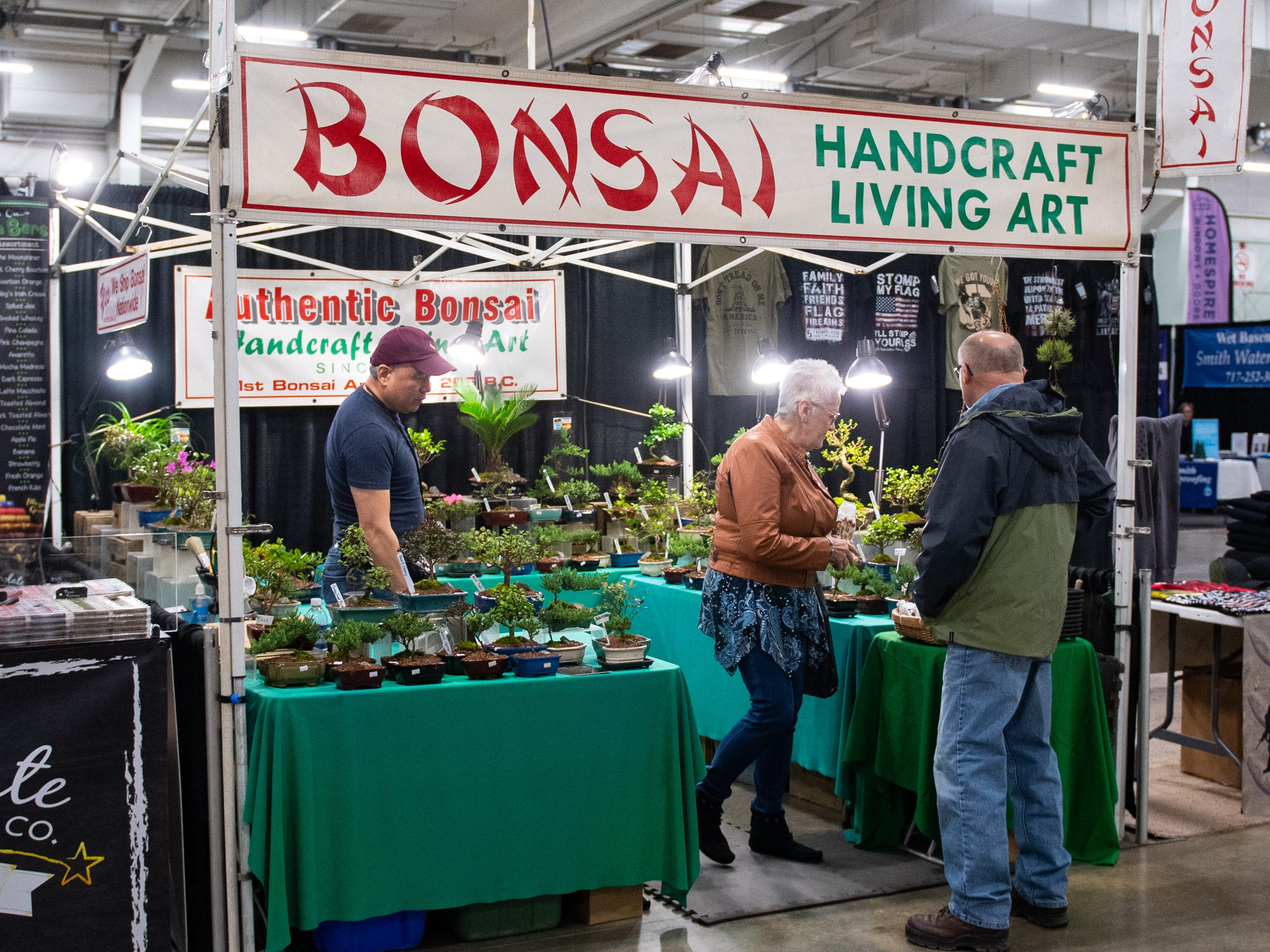 Bonsai has a booth at the 2019 Home & Garden Show, February 8, 2019.