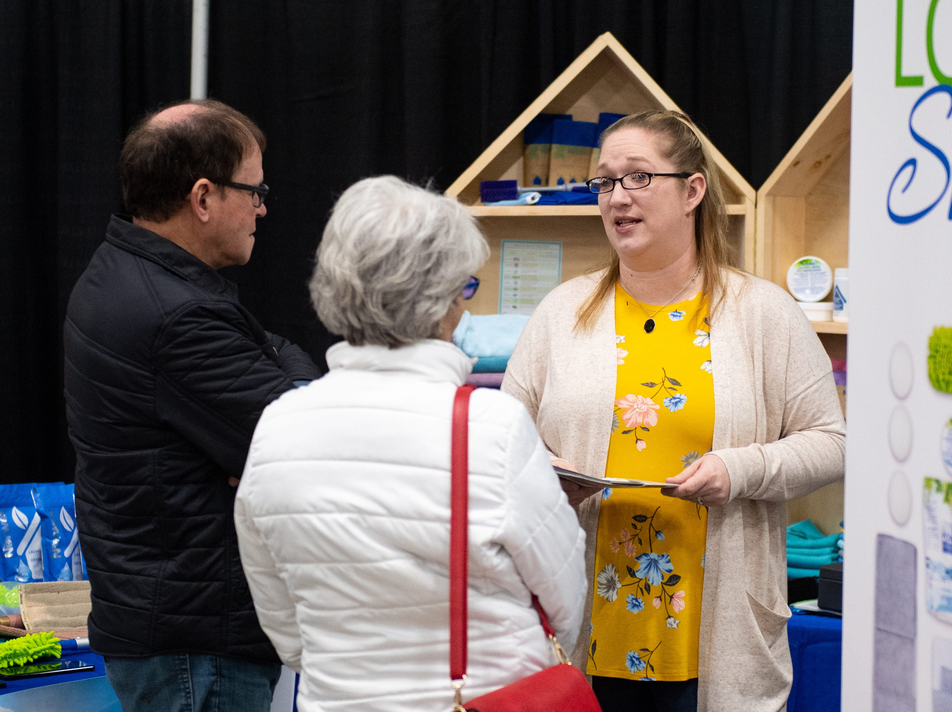 Vendors are a wealth of information at the 2019 Home & Garden Show, February 8, 2019.