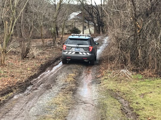 State police are investigating after a body was found at a Kralltown Road property in Warrington Township Thursday evening.