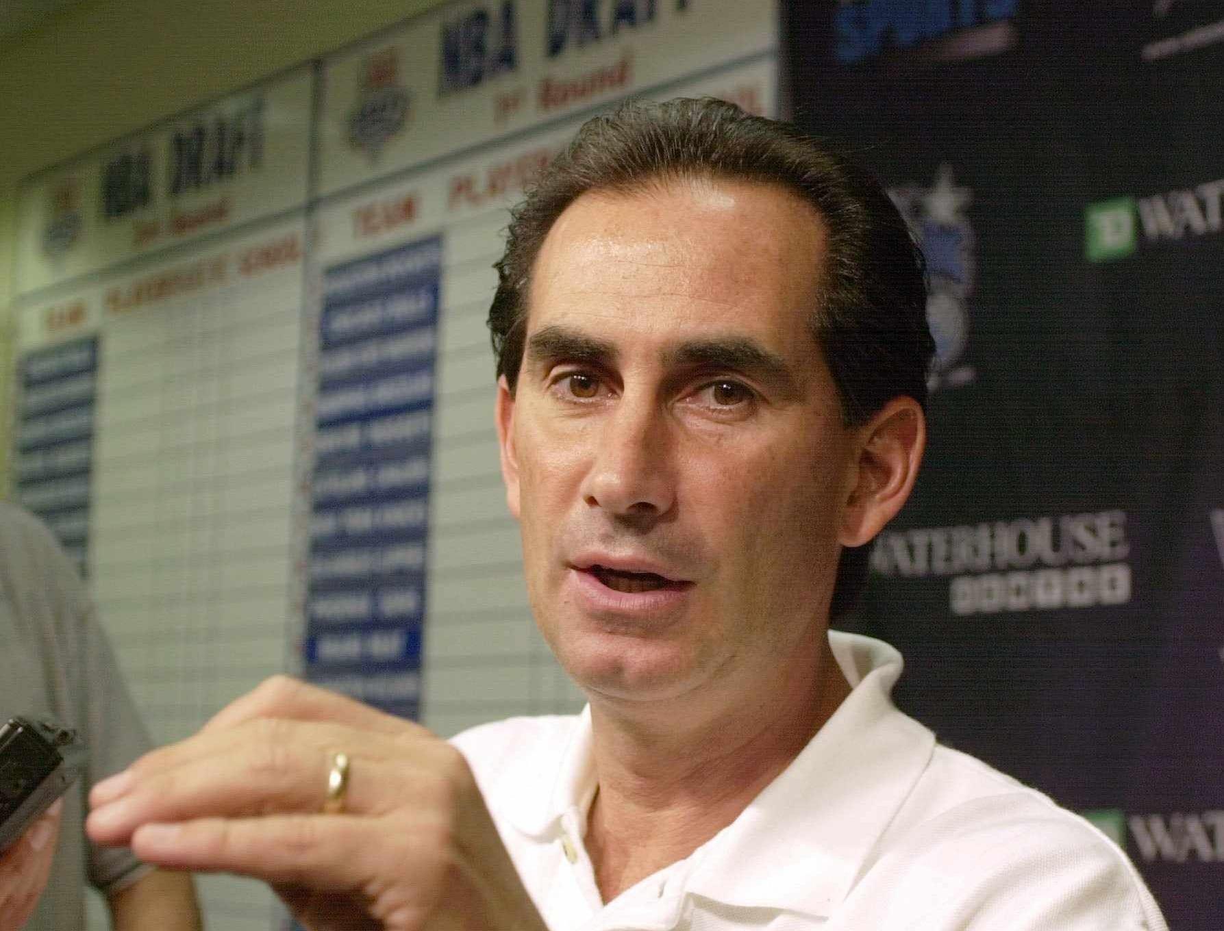 Orlando Magic general manager John Gabriel in 2002.