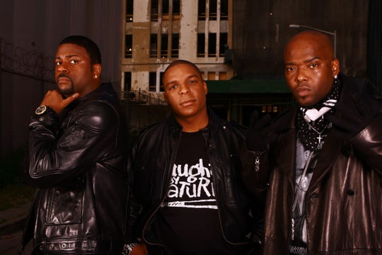 The '90s rap group Naughty By Nature