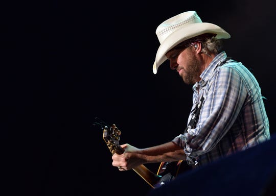 Toby Keith opens for the new Nugget outdoor amphitheater.