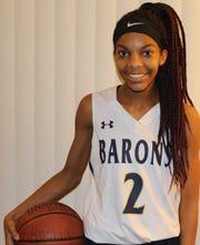 Brighton basketball player Kiara Anglin.