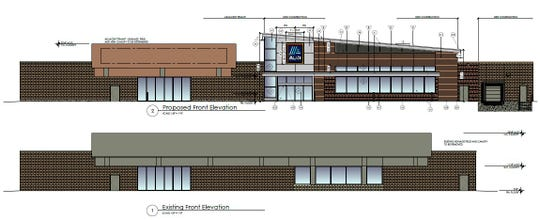 Proposed Aldi at Tops Plaza on Winton Road