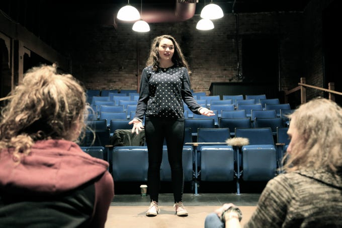 """""""Circle Mirror Transformation"""":Whenfour lost New Englanders enroll in Marty's six-week-long community-center drama class begin to experiment with harmless games, hearts are quietly torn apart, and tiny wars of epic proportions are waged and won, directed by Deborah Johansen, 8 to 10 p.m. Feb. 14-16, 22-23 and March 1, 2 p.m. Feb. 23 and March 2, The Verona Studio, The Reed Opera House, 189 Liberty St. #215. $20.www.theveronastudio.com."""