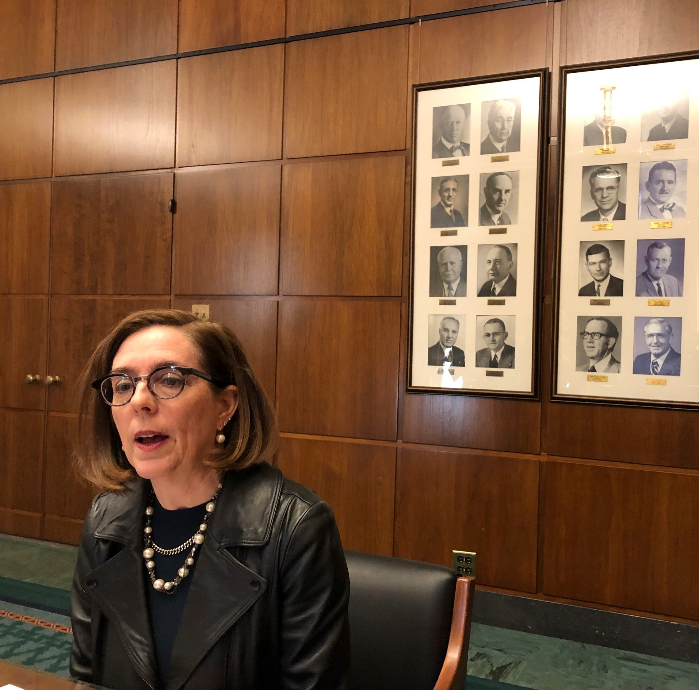 Oregon governor Kate Brown says Virginia's Northam should resign over racist photo