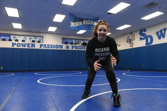 Stephen Decatur's Anya Knappenberger won the 2019 MPSSAA Girls Wrestling Invitation State Championship.