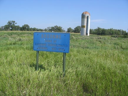 The town of Argonne, a Miner County outpost located seven miles northwest of Howard, has been extinct since the 1970s.