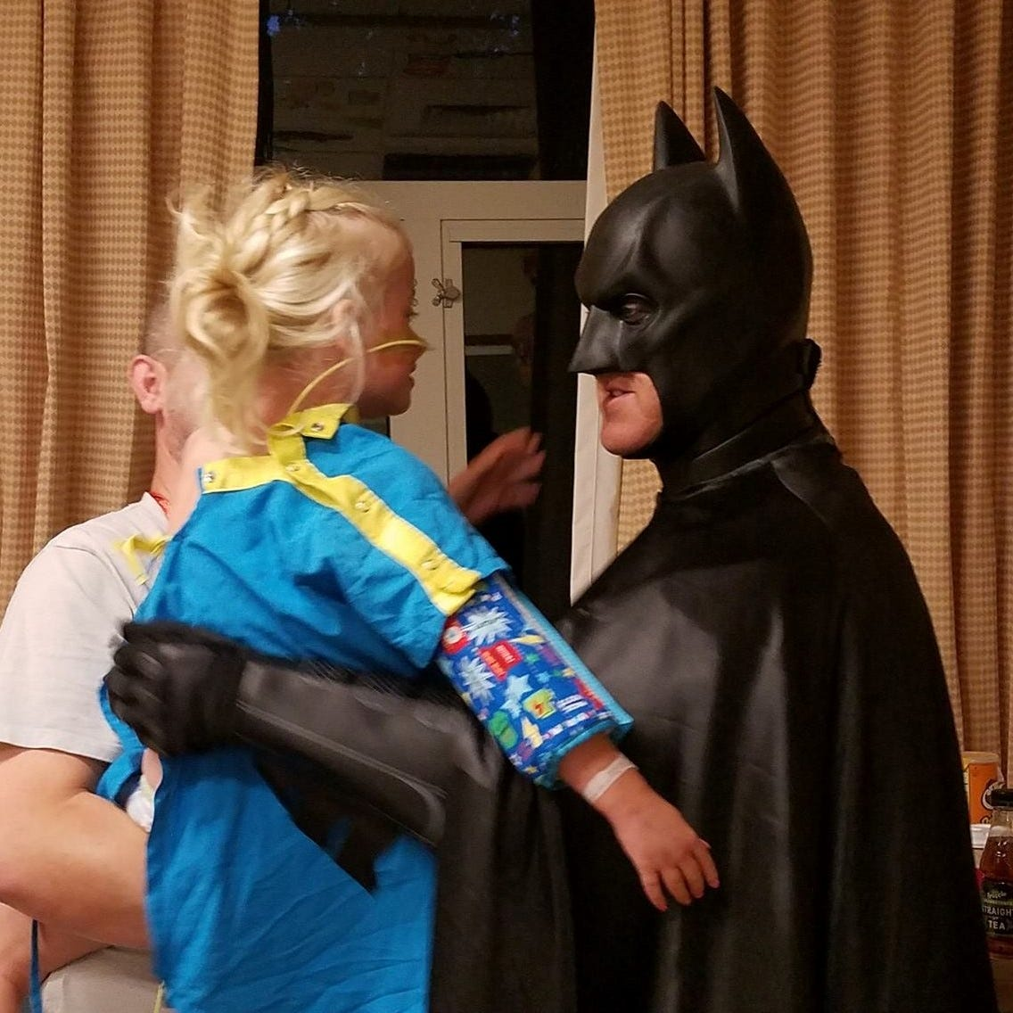 The hero Sioux Falls deserves: Marine veteran becomes Batman for hospitalized children