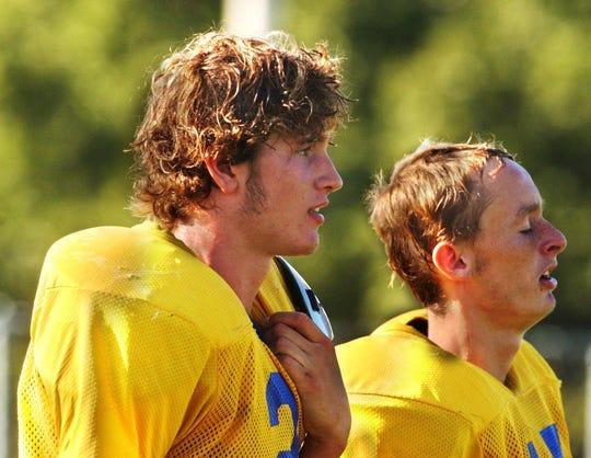 In 2003, Ava High School quarterback Rocky Valentine.