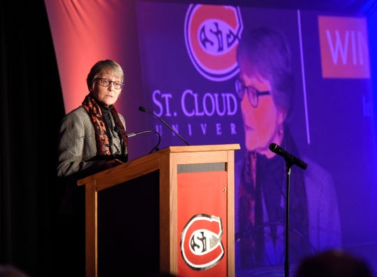 St. Cloud State University President Robbyn Wacker in December cut the 97-year-old NCAA Division II men's football program, along with men's and women's golf teams. Her decision came in response to a Title IX violation involving unequal opportunities for women in SCSU athletics as well as ongoing budget problems.