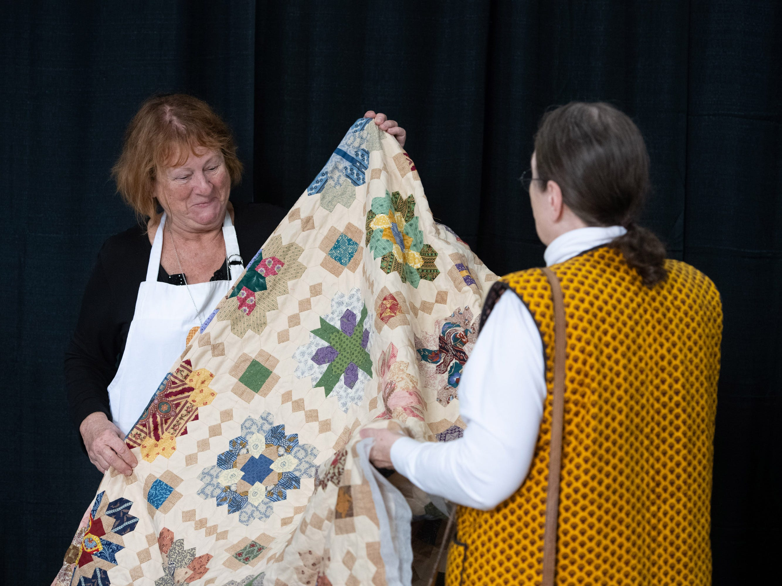The 40th anniversary Sunbonnet Sue Quilter's Guild Show is being held at the Indian River County Fairgrounds on Friday, Feb. 8, 2019 in Vero Beach. The show continues Saturday from 10 a.m. to 4 p.m.